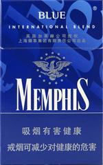 孟菲斯(硬蓝)香烟