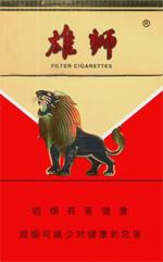 雄狮(红老版)香烟