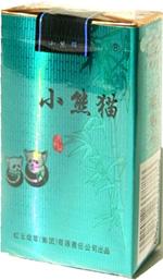 小熊猫(软清和风)香烟