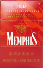 孟菲斯(硬红)香烟