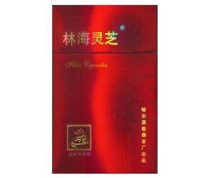 林海灵芝(硬红)香烟