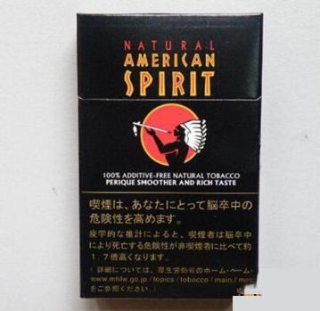 美国精神(硬黑)日本免税版