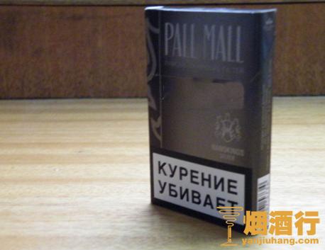 PALL MALL(硬灰细支)俄罗斯含税版