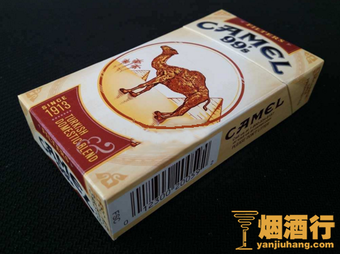 骆驼(硬黄99s)科罗拉多州含税版