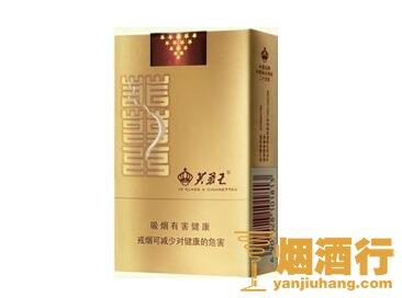 芙蓉王(软金)香烟