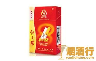 红三环(8+12)香烟