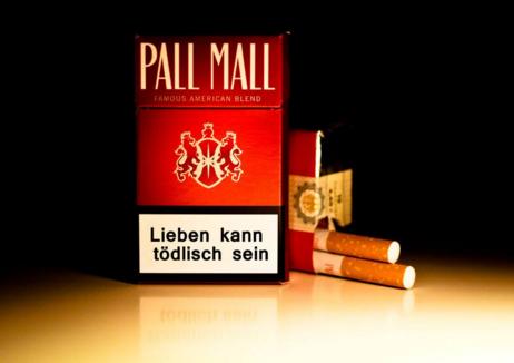 美国免税硬PALL MALL长红