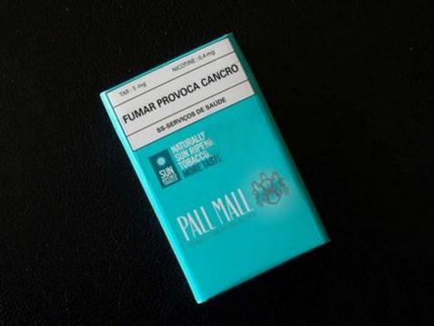 pall mall chilled(澳门含税版) 俗名:澳门版长红