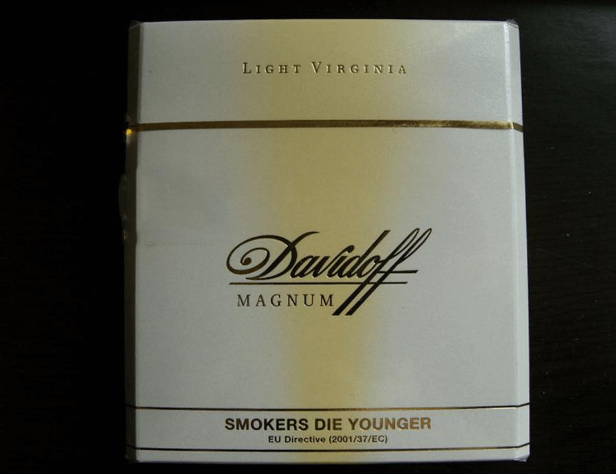 大卫杜夫(白特醇免税宽版) 俗名:Davdoff Magnum
