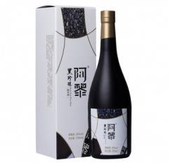 阿黎黑珍珠糯米Black Pearl Wine酒