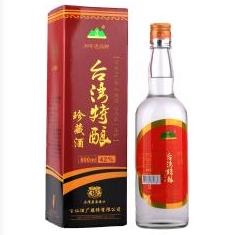 42°台湾特酿珍藏酒600ml